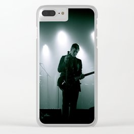 Paul Banks / Interpol at Terminal 5 New York City B&W Clear iPhone Case