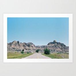 Colorado Roads (35mm Film) Art Print