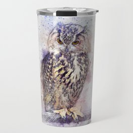 Bird Owl Animal Travel Mug