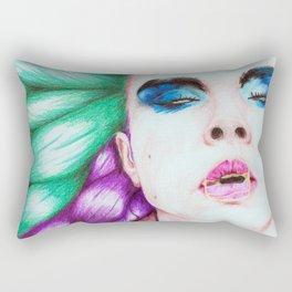 Bubblegum Vortex Rectangular Pillow