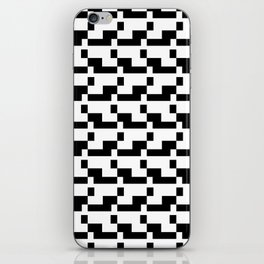 Blankaart Black & White Pattern iPhone Skin