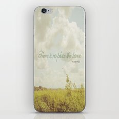 There is no place like home -The Wizard Of OZ iPhone & iPod Skin