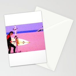 Surfer, 8:10 am Stationery Cards