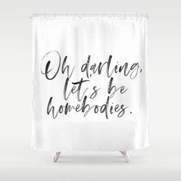 Homebodies Shower Curtain