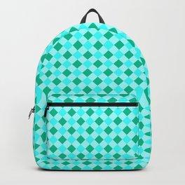 Gingham - Ocean Backpack