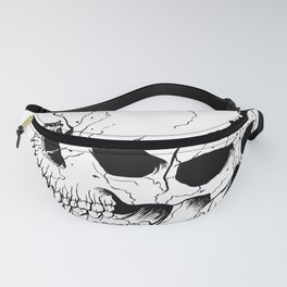 Skull (Fragmented and Conjoined) Fanny Pack