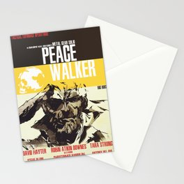 Peace Walker - Metal Gear Stationery Cards