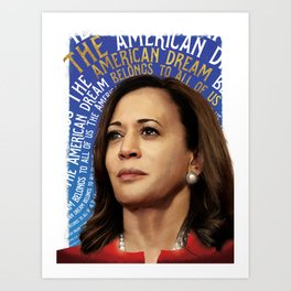 American Dream (Kamala Harris) Art Print