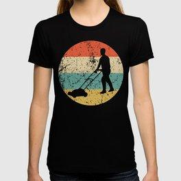 Lawnmowing Vintage Retro Lawnmower T-shirt