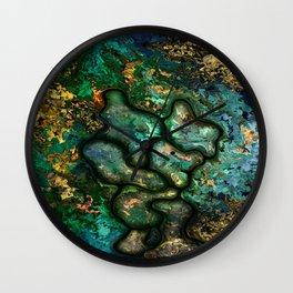 Copper worker by rafi talby Wall Clock