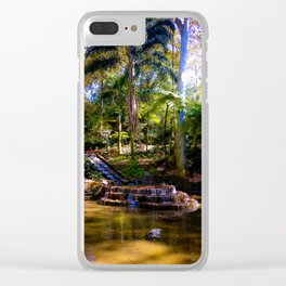 Tecajetes: My Happy Place (II) Clear iPhone Case