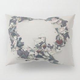 Letter Q in Paint Pillow Sham