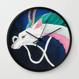 River Spirit Wall Clock