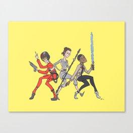 The New Big Three Canvas Print