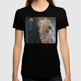 Life and Death - Gustav Klimt T-shirt