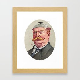 "William ""The Crock-Pot"" Taft Framed Art Print"