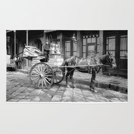 New Orleans milk cart Rug