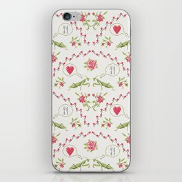 The mantis girl is hungry of love iPhone Skin