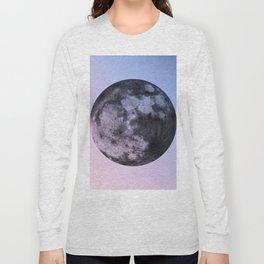 Not My Mood, Moon. Long Sleeve T-shirt