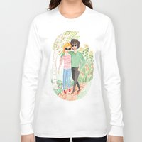grantaire Long Sleeve T-shirts featuring Walk in the Park by foxflowers