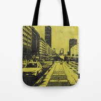 milan Tote Bags featuring Milan 2 by Anand Brai