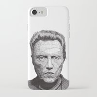 christopher walken iPhone & iPod Cases featuring Christopher by Rik Reimert