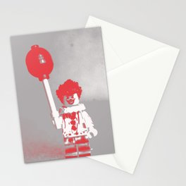 Misunderstood Clown Stationery Cards
