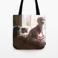 dogs Tote Bags featuring dogs by Peggy Franz   Photography   FranzsFeatur