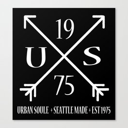 US Arrow Logo Canvas Print