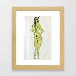 sexy ladies 6 Framed Art Print