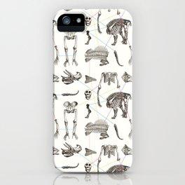 Puzzle bones iPhone Case