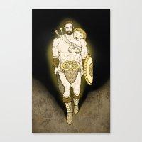 hercules Canvas Prints featuring Hercules by wyguy5