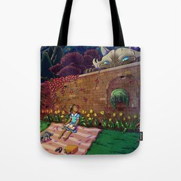 Amy In Wonderland Tote Bag