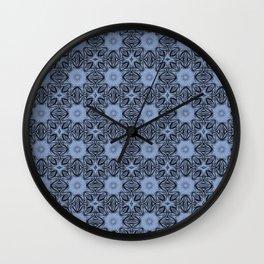 Serenity Floral Wall Clock
