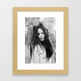 Huldra II Framed Art Print