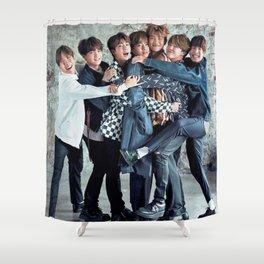 BTS CUTE ASS Shower Curtain