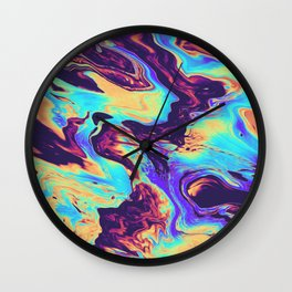 STUCK ON THE PUZZLE Wall Clock