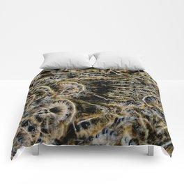 Tree Killing Caterpillars Comforters