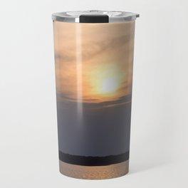 Sunrise at Lake Murray Travel Mug