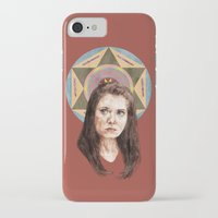 annie hall iPhone & iPod Cases featuring Annie by mycolour