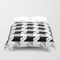 office Duvet Covers featuring Office Space by LoveSpud