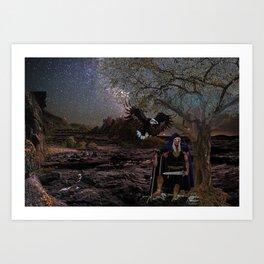 Nght Watcher Art Print
