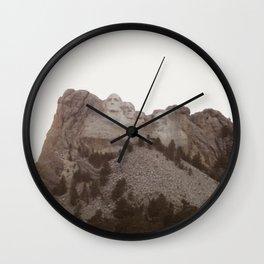 Grand Rushmore Wall Clock