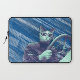 Driver cat Laptop Sleeve