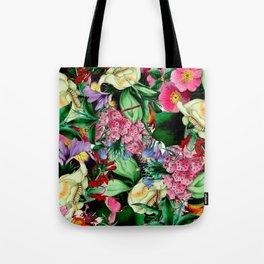 Vintage Floral bouquet Tote Bag