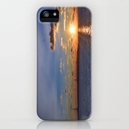 Twin Light Sunrise iPhone Case