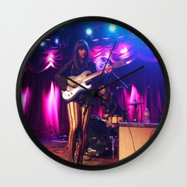 Dum Dum Girl at Brooklyn Bowl, New York Wall Clock