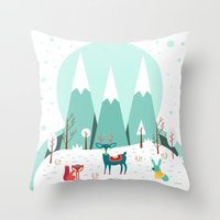 frozen Throw Pillows featuring Frozen by Find a Gift Now