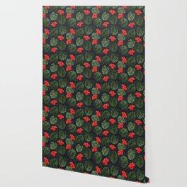 Tropic pattern 003 Wallpaper