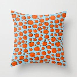 Naranjas de invierno Throw Pillow